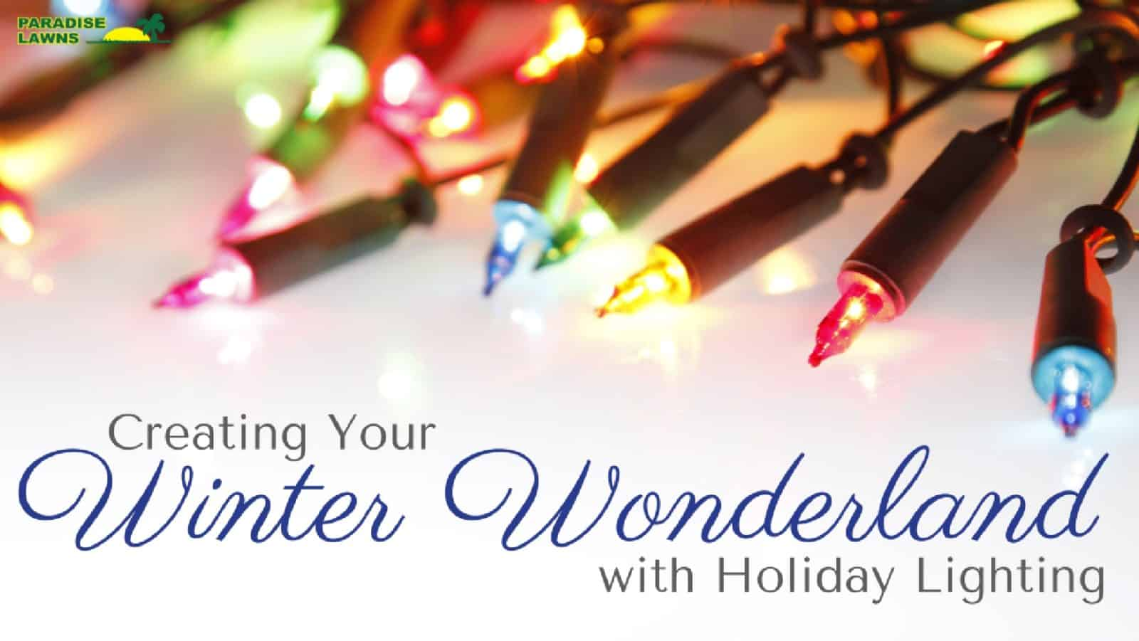 Creating Your Winter Wonderland