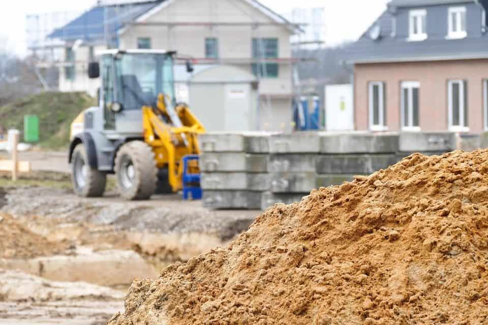 Construction Site building homes